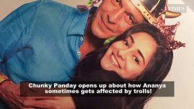 Ananya Panday gets affected by trolls and their comments, says daddy Chunky Panday