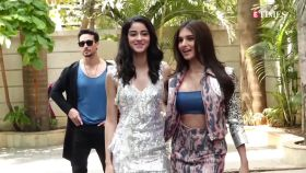 Ananya Panday looks radiant and stylish as she roams around the city