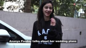 Ananya Panday opens up about her future wedding plans