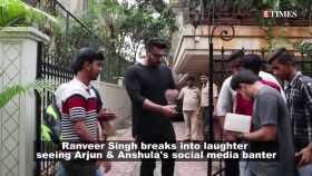 Arjun Kapoor's latest throwback picture leaves Ranveer Singh split into laughter!