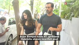 Arjun Rampal turns 47, girlfriend Gabriella pens down a heartfelt note for her beloved 'Shriji'