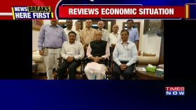 Arun Jaitley meets with Finance Secretaries to discuss budget