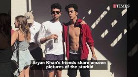 Aryan Khan's friends share some unseen pictures of the starkid