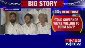Asked governor for 2 days time but we weren't given: Aaditya Thackeray