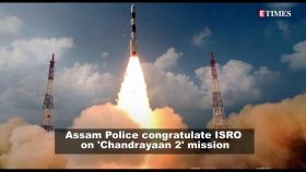 Assam Police post morphed poster of 'Baahubali' actor Prabhas, congratulates ISRO on 'Chandrayaan 2' mission