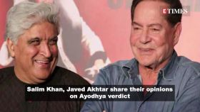 Ayodhya verdict: Salman Khan's father Salim Khan, Javed Akhtar suggest to build school, hospital instead of mosque