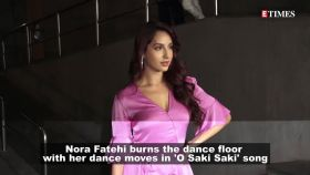 'Batla House': Nora Fatehi sets cyberspace on fire with her killer moves in 'O Saki Saki' song