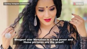 Bhojpuri superstar Monalisa's posing game is on point in these latest pictures!