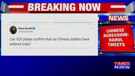 Can govt confirm that no Chinese soldiers entered India, tweets Rahul Gandhi