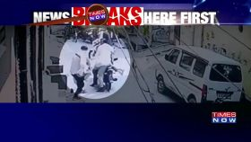 Caught on cam: Delhi businessman chased, shot at by bike-borne assailants