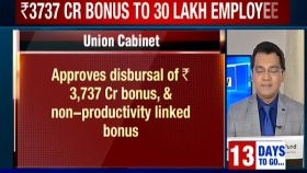 Central govt approves Rs 3,737 cr bonus for 30.67 lakh employees, to be disbursed in a week's time