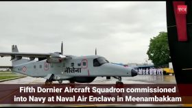 Chennai: Fifth Dornier Aircraft Squadron inducted into Indian Navy