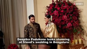 Deepika Padukone repeats her wedding reception sari and we can't stop admiring her!