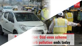 Delhi Pollution: Odd-even scheme intended to curb pollution ends today
