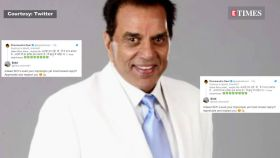 Dharmendra's reaction to Hema Malini's broom act will leave you in splits!