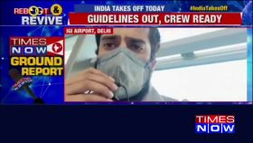 Domestic flights resume: Ground reports from IGI Airport, Delhi