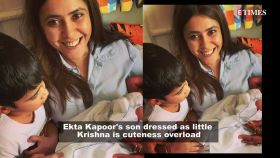 Ekta Kapoor's son Ravie's first glimpse proves he is mommy Ekta's spitting image