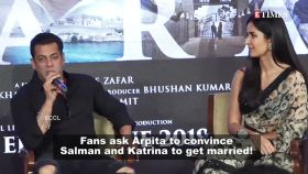 Fans request Arpita Khan Sharma to convince Salman Khan and Katrina Kaif to get married