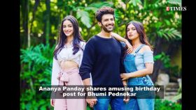 Foodie Ananya Panday wishes Bhumi Pednekar on her birthday; says, 'I promise to try and share my food with you today'