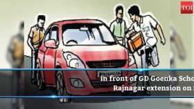 Ghaziabad: Five on trip stop for snacks, robbed of car