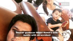 Glimpses of Arjun Rampal's girlfriend Gabriella's baby shower; 'Bharat' producer's wife meets with accident; and more…