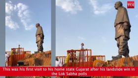 Gujarat: PM Modi pays tribute to Sardar Patel in Ahmedabad