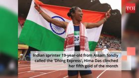 #HimaDas: Indian sprinter returns to 400 m, clinches 5th gold of month