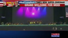 #HowdyModi: Colourful dance with an euphoric tune to welcome PM Narendra Modi