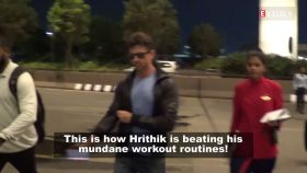 Hrithik Roshan ditches his regular workout, opts for cycling on Mumbai streets