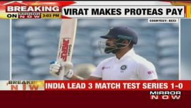 India vs South Africa 2nd test: Virat Kohli hits 7th double century