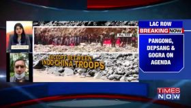 Indo-China Commander-level meeting today over disengagement at Pangong, Depsang & Gogra