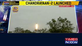 ISRO launches Chandrayaan-2 from Sriharikota
