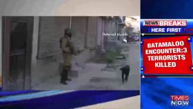 J-K: 3 terrorists neutralized in Srinagar's Batamaloo, operation underway