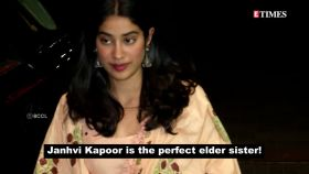 Janhvi Kapoor turns make-up expert for sister Khushi Kapoor and the outcome is simply stunning!