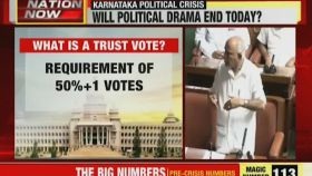 Karnataka political crisis: Speaker sets 6pm deadline, judgment Day for HDK