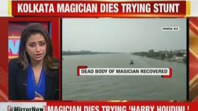 Kolkata: Magician drowns in Hooghly while attempting underwater Houdini escape act