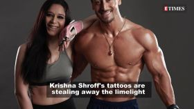 Krishna Shroff goes topless and flaunts her spectacular tattoos
