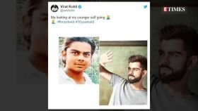 Kya se kya ho gaye dekhte dekhte: Here's how fans reacted when Virat Kohli shared his throwback picture