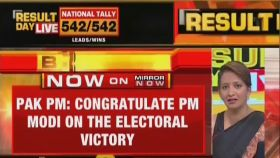 Lok Sabha results 2019: Pak PM Imran Khan congratulates PM Modi on his win