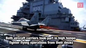 Malabar Naval exercise 2020: Aircraft carriers INS Vikramaditya, USS Nimitz take part in simulated attacks