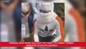 Man who wore his lucky '007' shirt to commit crimes arrested in Delhi's Dwarka