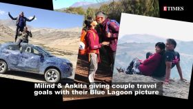 Milind Soman shares breathtaking pic with wife Ankita Konwar in Blue Lagoon; Public review of Saif Ali Khan-Sonakshi Sinha's 'Laal Kaptaan', and more…