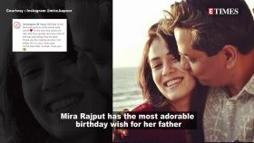 Mira Rajput shares a heartfelt post on her daddy's birthday, later spotted outside gym