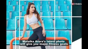 Monday Motivation: Malaika Arora looks like a diva, nails stretching exercise