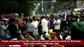 Mukherjee Nagar clash: Sikh community takes street protest, demands to sack Delhi cops who attacked auto driver