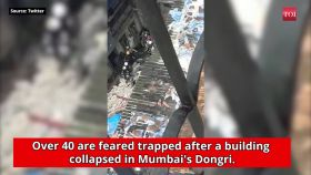 Mumbai: Building collapses in Dongri, over 40 feared trapped