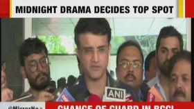 My biggest focus will be first-class cricket: BCCI president-elect Sourav Ganguly