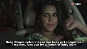 Neha Dupia celebrates 7 months of baby girl Mehr, shares picture