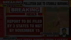 NGT seeks report from Haryana, Punjab and UP on action taken to stop stubble burning