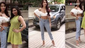 Nora Fatehi looks sizzling in latest pictures